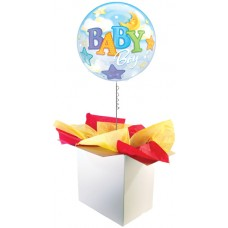 "Baby Boy 22"" Bubble Balloon"