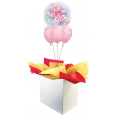 Baby Girl Double Bubble Bouquet