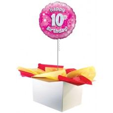"10th Birthday Girl 18"" Foil Balloon"