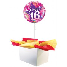 "16th Birthday Pink 18"" Foil Balloon"