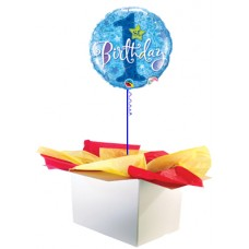 "1st Birthday Boy 18"" Foil Balloon"