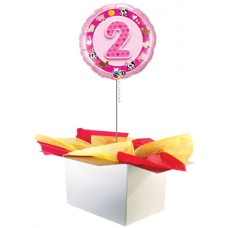 "2nd Birthday Girl 18"" Foil Balloon"
