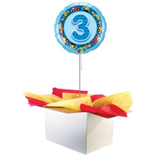 "3rd Birthday Boy 18"" Foil Balloon"