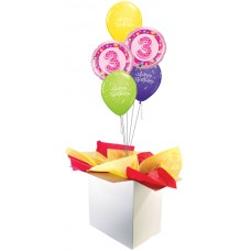 3rd Birthday Girl Bouquet