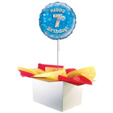 "7th Birthday Boy 18"" Foil Balloon"