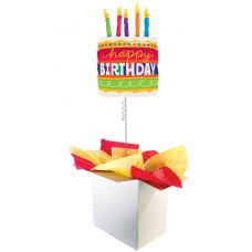 "Birthday Cake 35"" Supershape Foil Balloon"