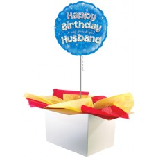 "Happy Birthday Husband 18"" Foil Balloon"