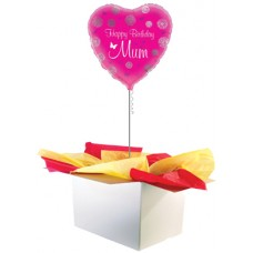 "Happy Birthday Mum 18"" Foil Balloon"