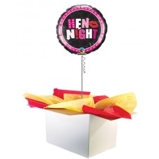 "Hen Night Party 18"" Foil Balloon"